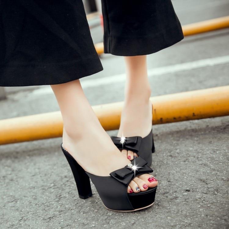 Moda Verano Sandalias Rushed rojo Grande Inicio Estilo Zapatillas Casual azul Mujeres Limited 2017 Adhesivo Tamaño 16 Feminino Negro Playa Zapatos Sapato 1 nfxwXqZ18