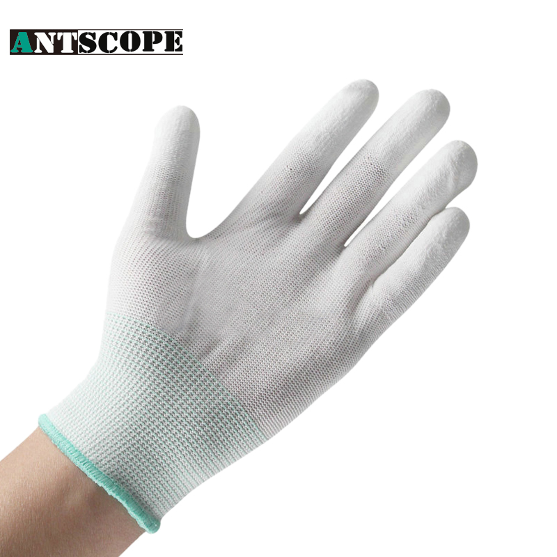 Working safety gloves White Rubber Nitrile Protective Gloves PU Resistant Vibration Isolator Ventilation Work Gloves Wholesale maybelline new york maybelline new york 30 5