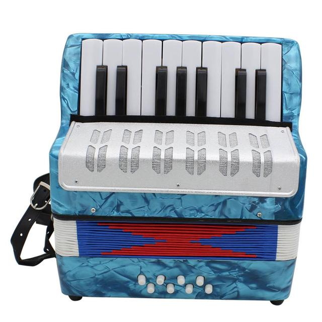 Professional 17 Keys Mini Accordion