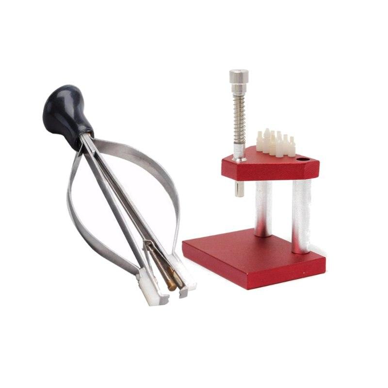 La Migliore Qualità Mano Presto Presser Press + Lifter Puller Plunger Remover Guarda Strumenti di Riparazione Kit