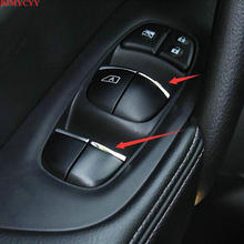 BJMYCYY car styling ABS 7PCS/SET Car window lift buttons decorate sequins for Nissan Altima Teana L33 Maxima 2013-2018 цены онлайн