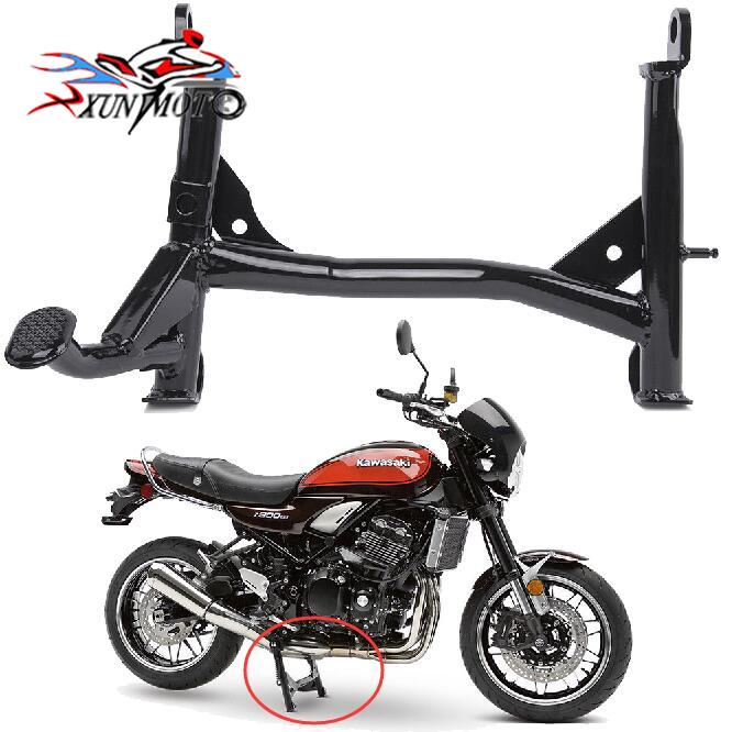 Sunny Motorcycle Foot Center Stand Support Stand Mount Centerstand Double-leg Brace Bracket Kickstand For 2018 Kawasaki Z900rs Cafe Drip-Dry Stands Frames & Fittings