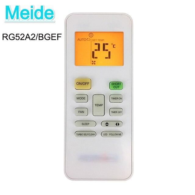 Mới RG52A2/BGEF đa năng AC điều khiển từ xa cho không khí conditionerc Phù Hợp Cho điều hòa Midea