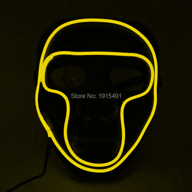 Hot sale Masquerade decor Жарқын EL Cold Light Маскасы - Мерекелік жарықтандыру - фото 4