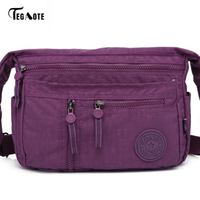 TEGAOTE/Модная сумка на молнии с карманом для женщин; маленькая мини-сумка через плечо; женская сумка-портфель; сумка для мобильного телефона
