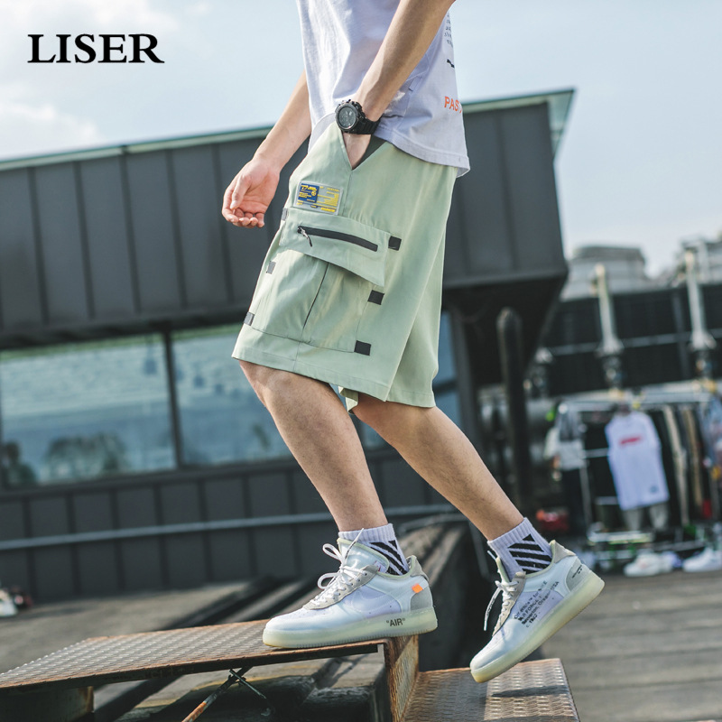 Liser Shorts Men 2019 Summer Joggers Hip Hop Shorts Streetwear Sweatpants Casual Shorts