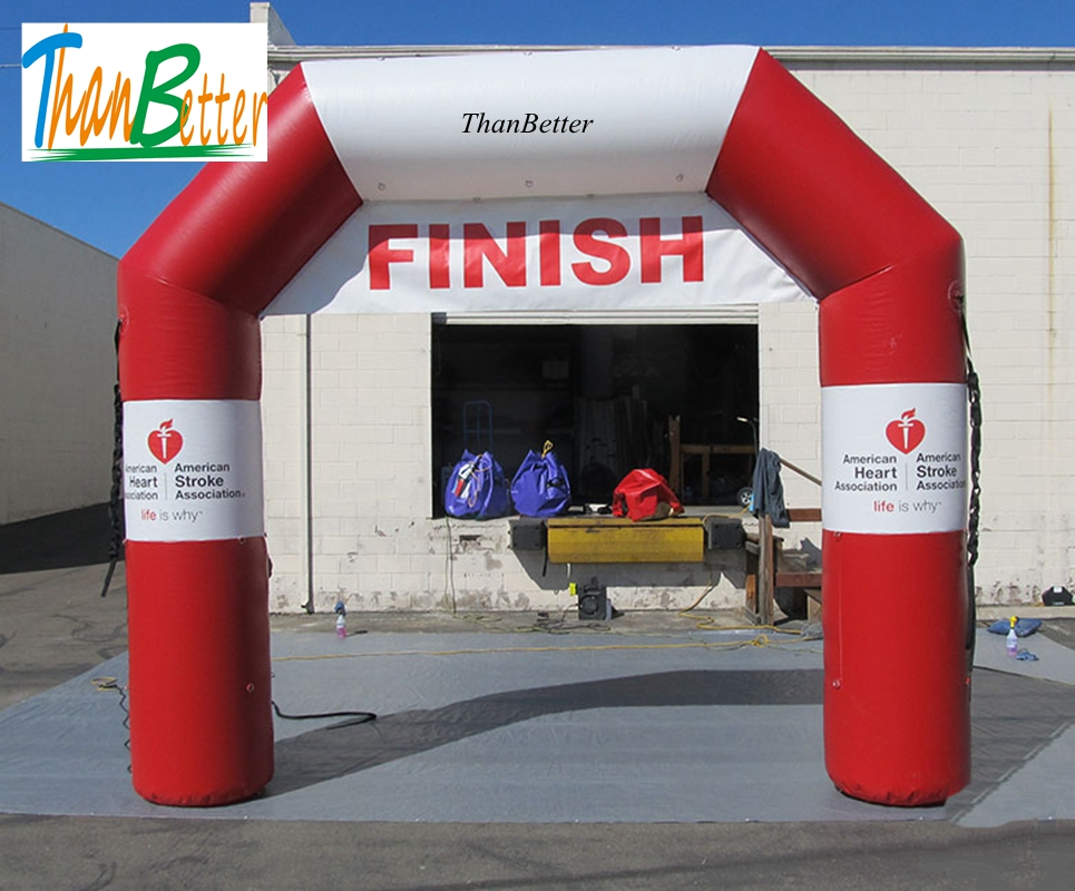 ThanBetter Full color print direct sell advertising Welcome Entrance Archway, Inflatable Start line infltable Finish LineThanBetter Full color print direct sell advertising Welcome Entrance Archway, Inflatable Start line infltable Finish Line