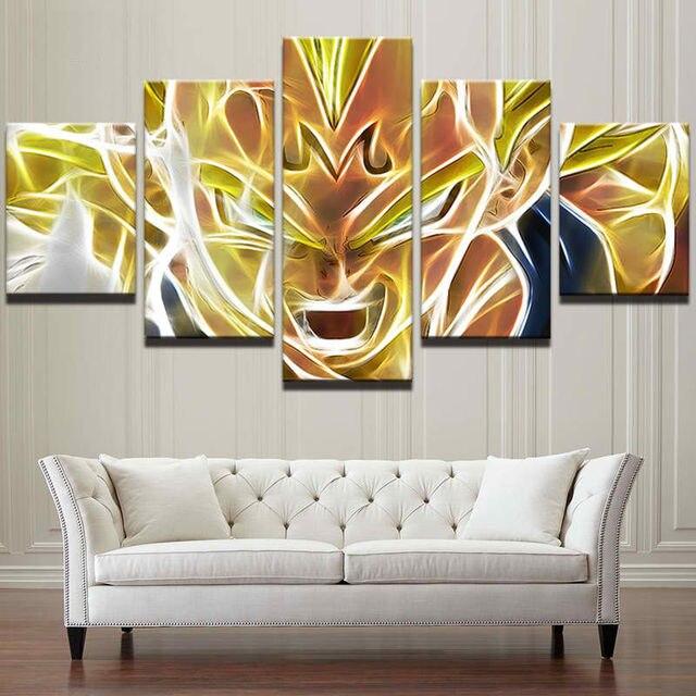 Interior original abstracta del arte enmarcado anime cartel ...