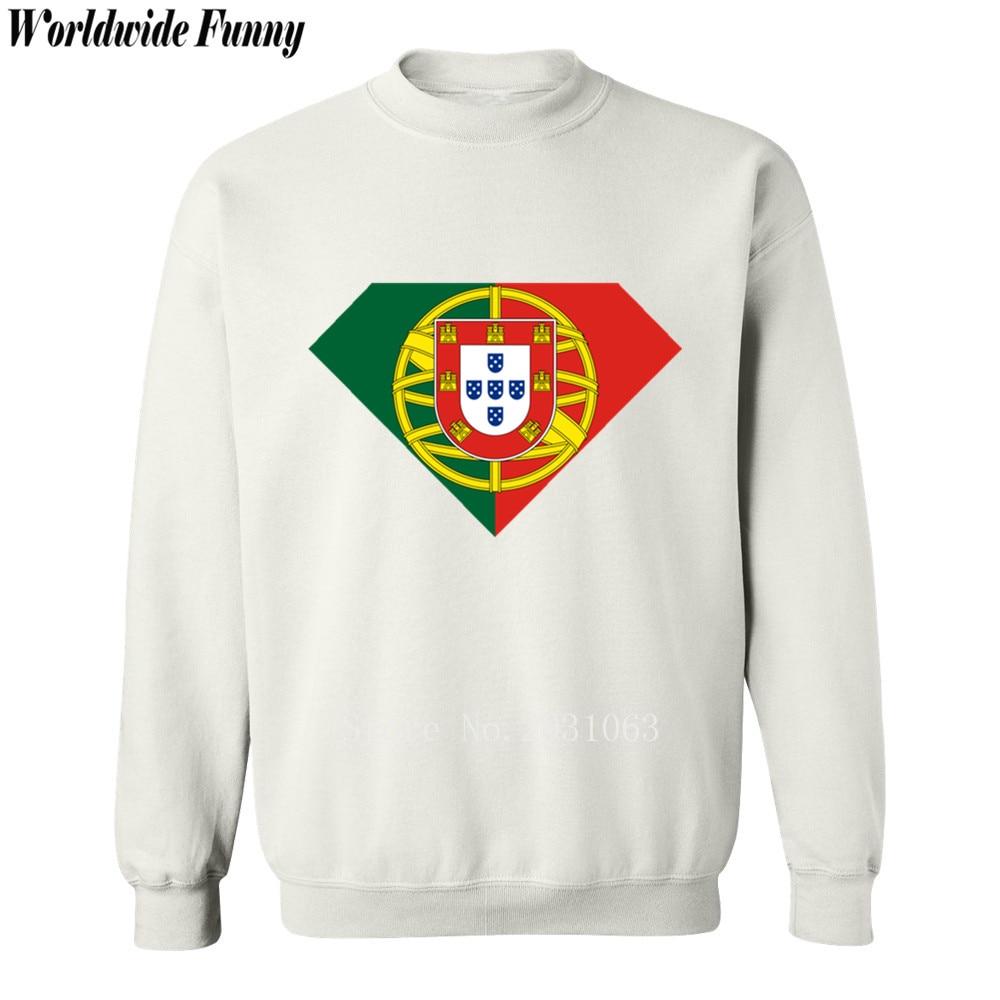 Spring winter printed 2018 Shield Super Portugal flag mens sportswear fashion casual sweatshirt men Crossfit hoodie tracksuits