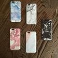 Novos casos de telefone moda para iphone 6 6 s 6 plus 6 splus imagem de mármore cobertura padrão pintura a óleo da paisagem pintada design case
