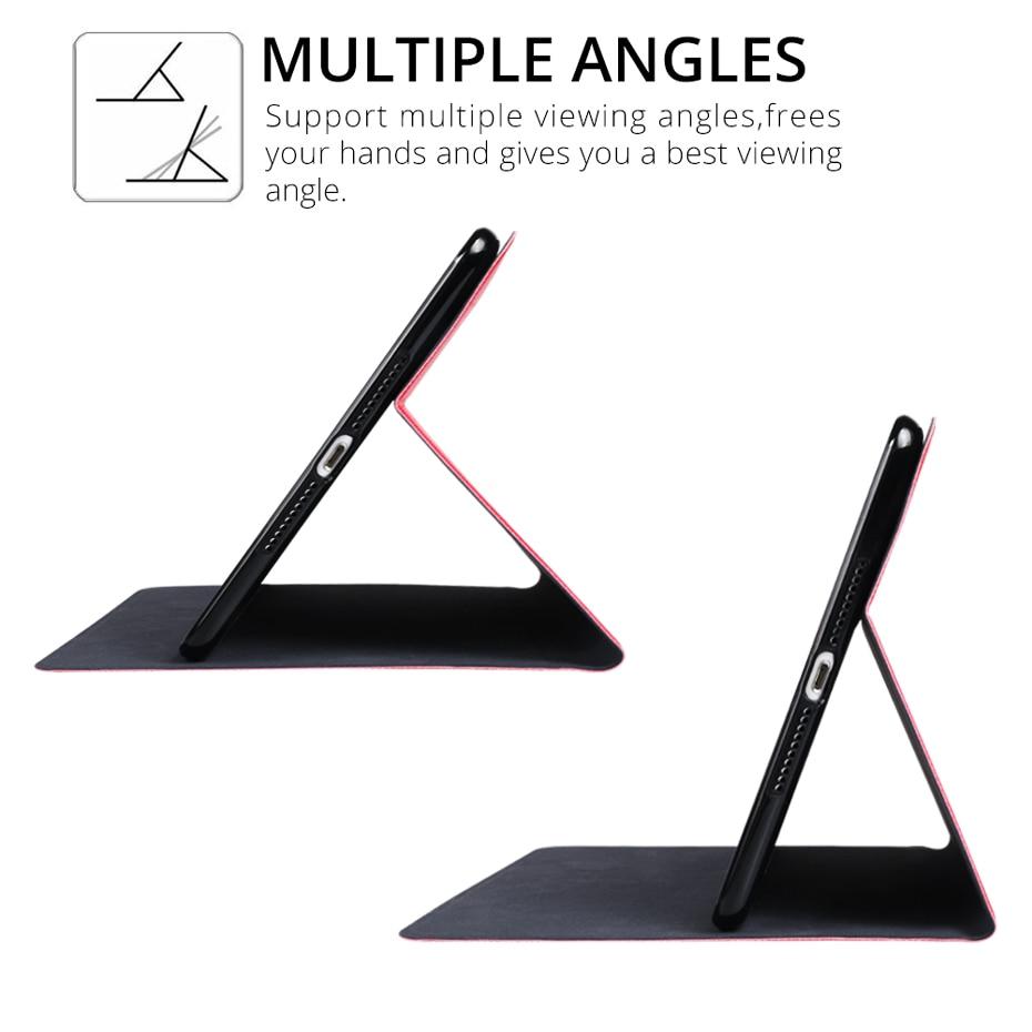 QIJUN For iPad 10 2inch 2020 Flip Tablet Cases Fundas For iPad 8th 2020 10 2