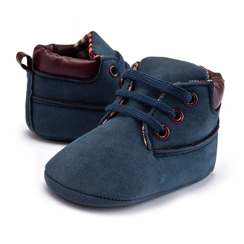 Baby Shoes Suede Leather Moccasins Winter Baby Booties Infant Shoes Boy Girls Newborn Shoe Kids Footwear Baby First Walker Shoes