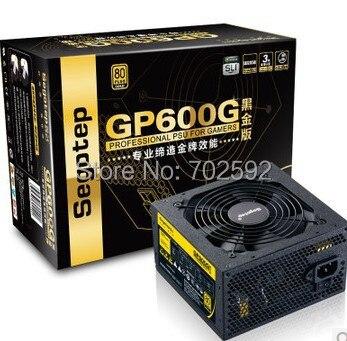 Original 80 PLUS gold certified power supply GP600G