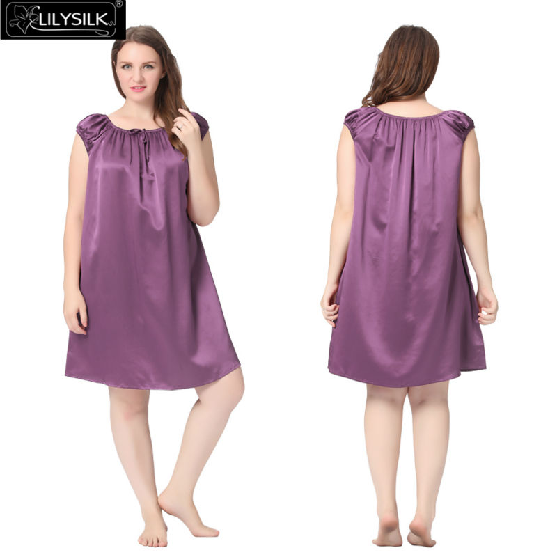 1000-violet-22-momme-mid-length-silk-nightgown-with-tied-bust-plus-size-01