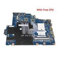 NOKOTION NAWE6 LA 5754P MAIN BOARD For Lenovo G565 Z565 Laptop Motherboard Socket S1 DDR3 Free CPU HD5340 Video Card
