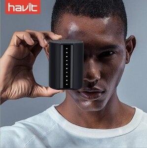 Havit M12 nouveaux haut-parleurs Bluetooth haut-parleur stéréo Portable haut-parleur sans fil Super basse 3.5mm Aux mains libres boîte de son pour les téléphones