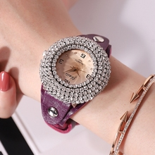2019 fashion watch women luxury quartz wrist women's watches diamond analog leather clock Dropshipping & Wholesale