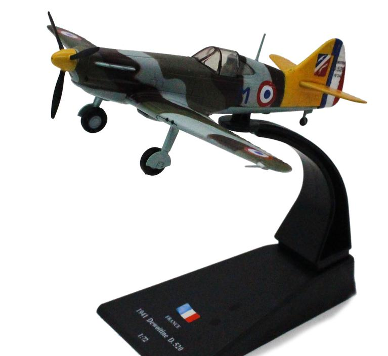 1:72 alloy aircraft model,France D520 Dewoitine fighter, Metal Diecasts model,Children's Toy Vehicles,free shipping