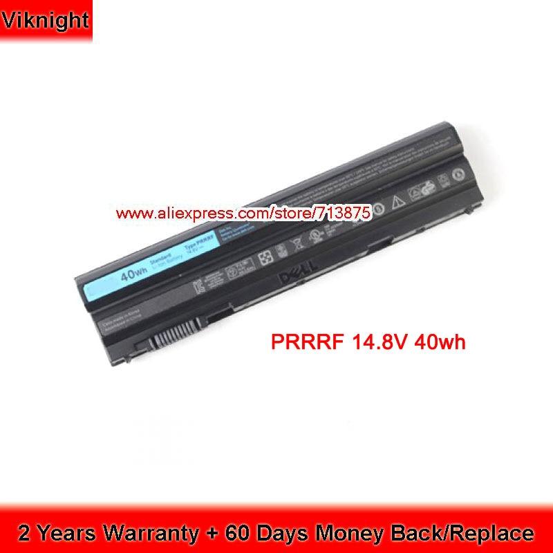 Genuine Battery PRRRF 14.8V for Dell Latitude E5420 E5430 E6420 E5520 E6420 E6520 E6420 T54FJ M5Y0X 11 1v 97wh korea cell new m5y0x laptop battery for dell latitude e6420 e6520 e5420 e5520 e6430 71r31 nhxvw t54fj