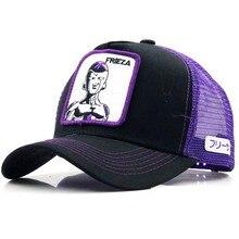 Unisex Mesh Trucker Hats for Men's Baseball Caps Women Anime