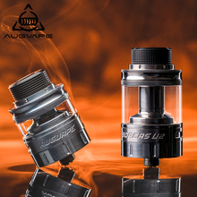 Augvape Boreas V2 RTA Atomizer 2.5ml 5ml Capacity Angled Upwords Airflow Chimney Tube Adapter Electronic Cigarette Atomizer Tank