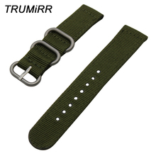 20mm 22mm 24mm Nylon Watchband Zulu Strap for Diesel Men Women Watch