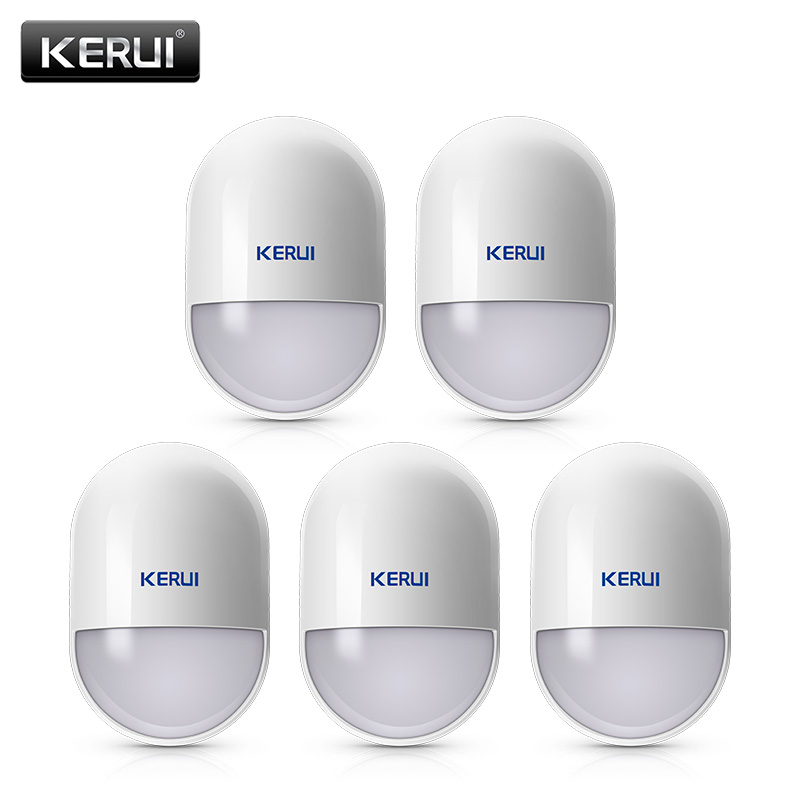 5Pcs lots KERUI P829 Wireless Smart Home Motion Detector Sensor PIR Motion Detector for KERUI Home