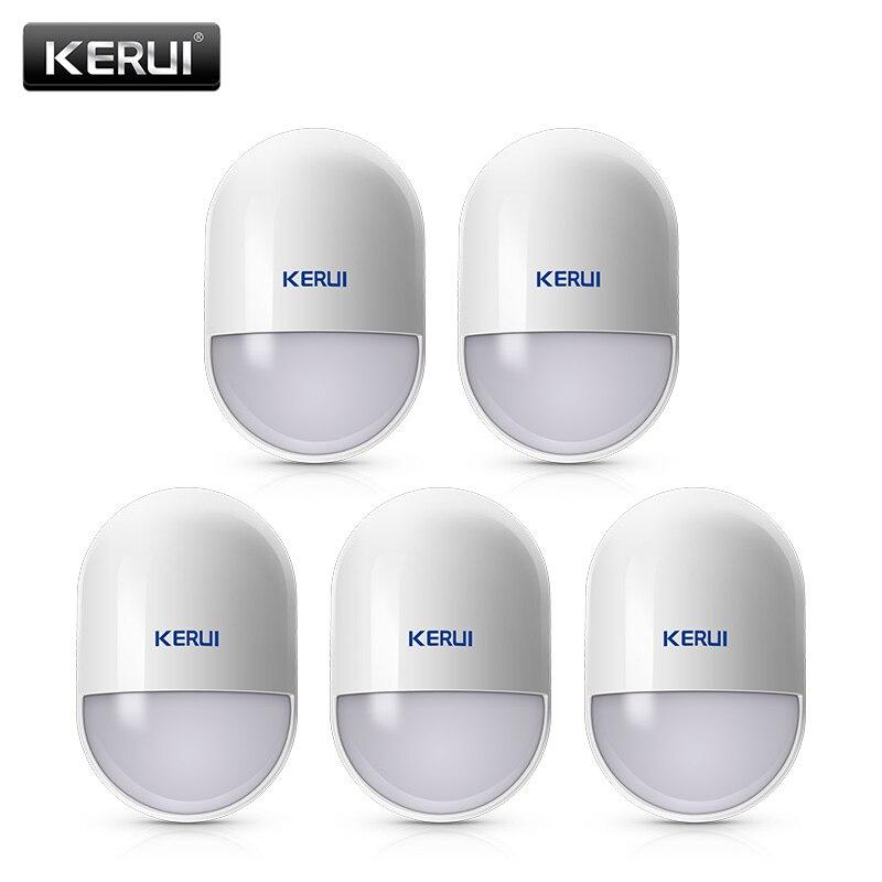 5 Pcs/lots KERUI P829 Sans Fil Maison Intelligente Détecteur de Mouvement Capteur PIR Détecteur de Mouvement pour KERUI Maison Système D'alarme