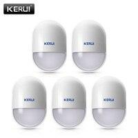 5 Sztuk/partii KERUI P829 Bezprzewodowy Czujnik Ruchu PIR Motion Detector Detektor dla KERUI Smart Home System Alarmowy W Domu