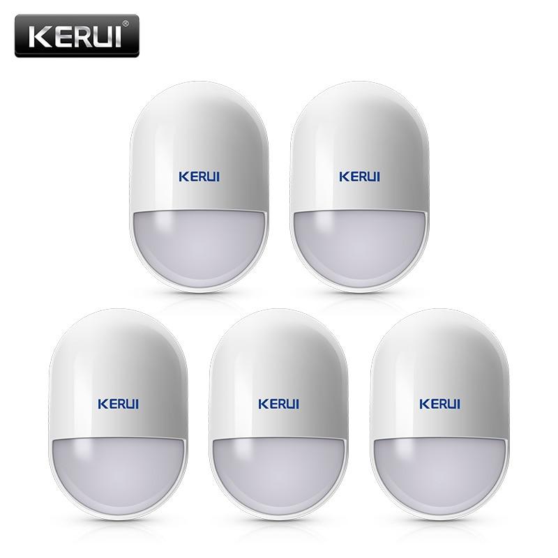 5Pcs/lots KERUI P829 Wireless Smart Home Motion Detector Sensor PIR Motion Detector for KERUI Home Alarm System kerui p815 wireless alarm pir sensor motion detector with long detect distance