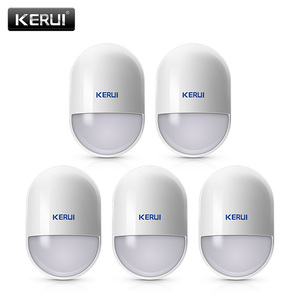 Image 1 - 5Pcs/lots KERUI P829 Wireless Smart Home Motion Detector Sensor PIR Motion Detector for KERUI Home Alarm System