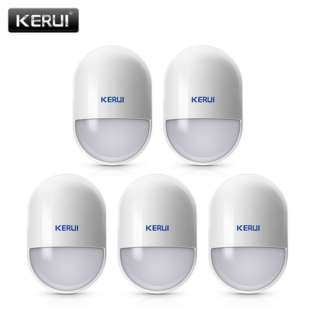 5Pcs/lots KERUI P829 Wireless Smart Home Motion Detector Sensor PIR Motion Detector for KERUI Home Alarm System