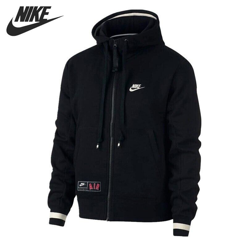 Original New Arrival NIKE AS M NSW AIR HOODIE FZFLC Men s Jacket Hooded Sportswear