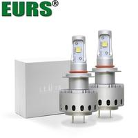 EURS TM 7S LED Car Headlights Super Bright H1 H4 H7 H11 9005 9006 Fog Lamps