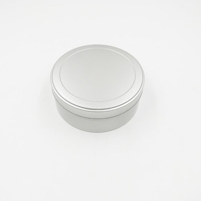 Dia.110X42mm круглый серебряный чай декоративная коробка для хранения сладостей коробка для кофе