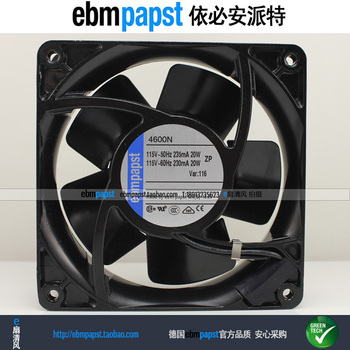 ebmpapst 4600N AC 115V 20W 119x119x38mm Server Cooling Fan