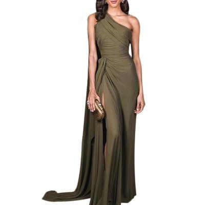 Saida De Praia женские летние платья 2019 пляжная одежда платье Макси Большой размер s сексуальное платье на одно плечо Бохо одежда плюс размер Ropa