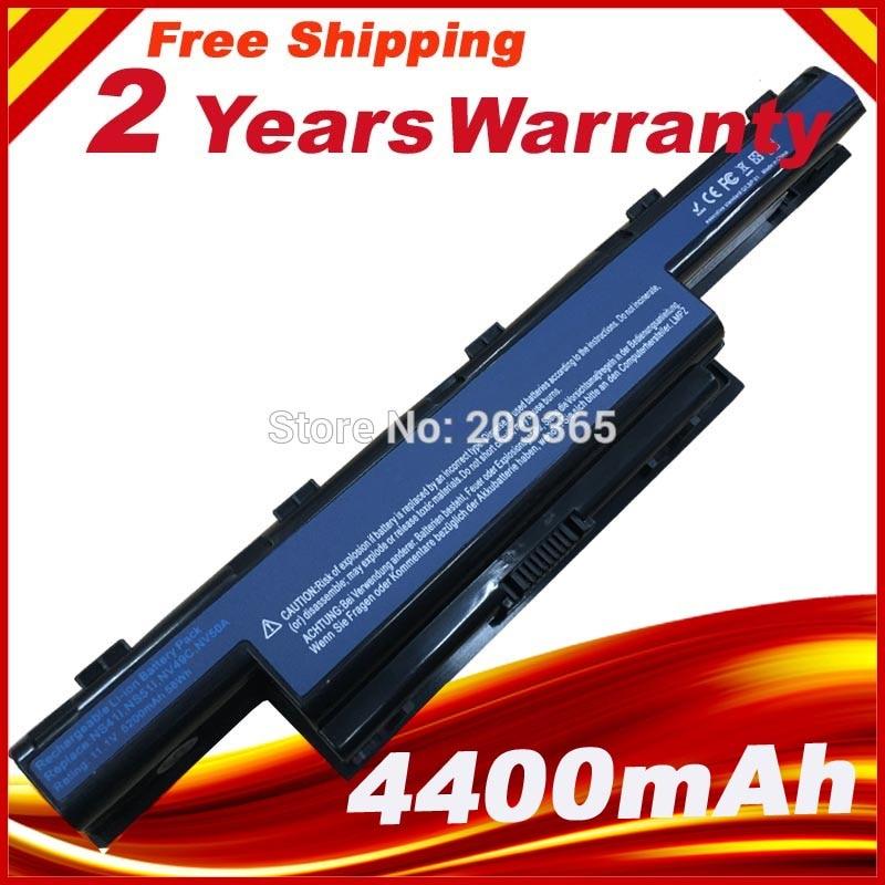 Laptop Batteri för Acer Aspire 5742G 5750G 7551G 7251 7552G 7741G - Laptop-tillbehör