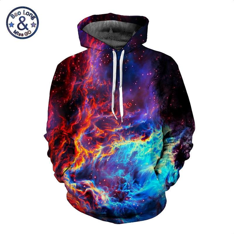 Raum Galaxy Sweatshirts Männer Frauen 3D Hoodies Beiläufige Trainingsanzüge Sterne Nebula Mit Kapuze Tops Dünne Herbst Winter Sweatshirt Camo Mantel