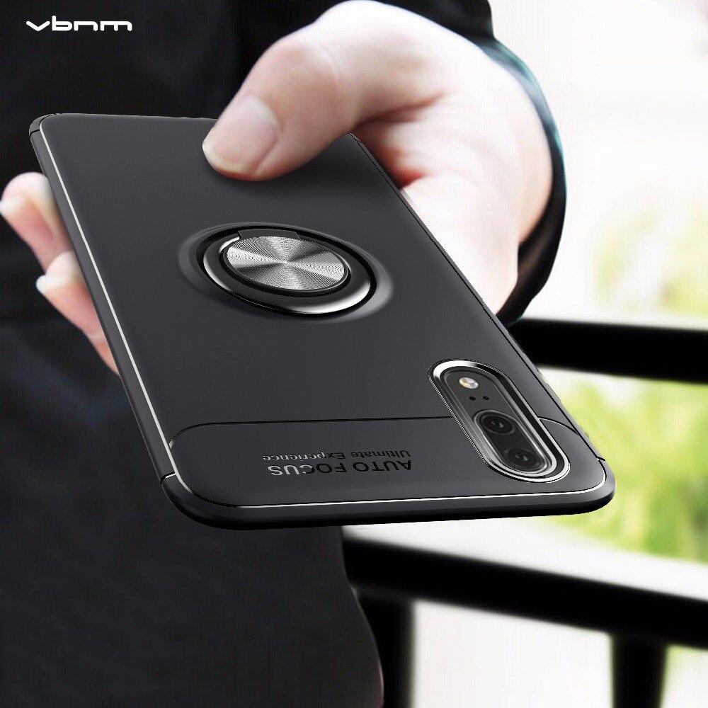 VBNM Cases For Huawei P20 lite Case Silicone Car Wheel Ring For Huawei P20 Plus Cover For Huawei Nova 3E Shell Coque Cover Capa