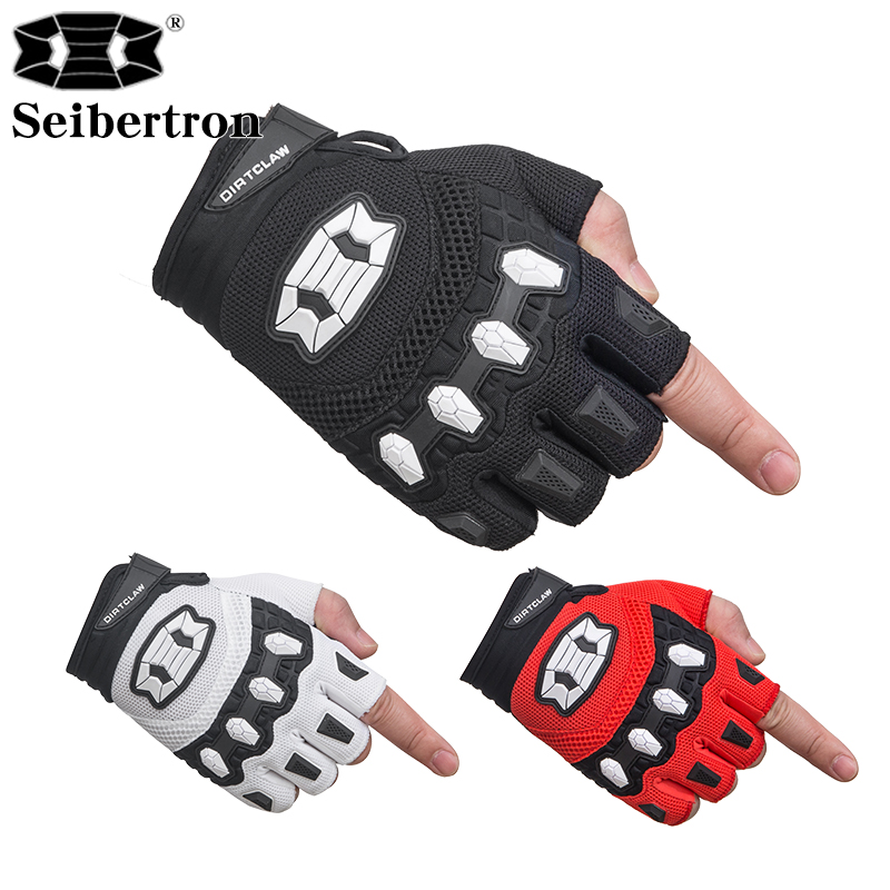 Children's <font><b>Gloves</b></font> Balance car BMX MX ATV MTB Road Racing <font><b>Mountain</b></font> <font><b>Bike</b></font> Bicycle Cycling <font><b>Gel</b></font> Padded Anti - Slip Palm Fingerless image