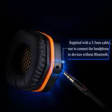 B3505 Wireless Bluetooth Gaming Headphones Earphones with mic button control 3.5mm audio Helmet gaming Headset Gamer