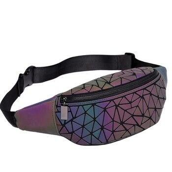 fed204c22 Bolso de cintura para mujer, riñonera de marca de lujo, bolso de cinturón  holográfico luminoso geométrico, bolso de viaje para hombre, bolsas de  pecho, ...