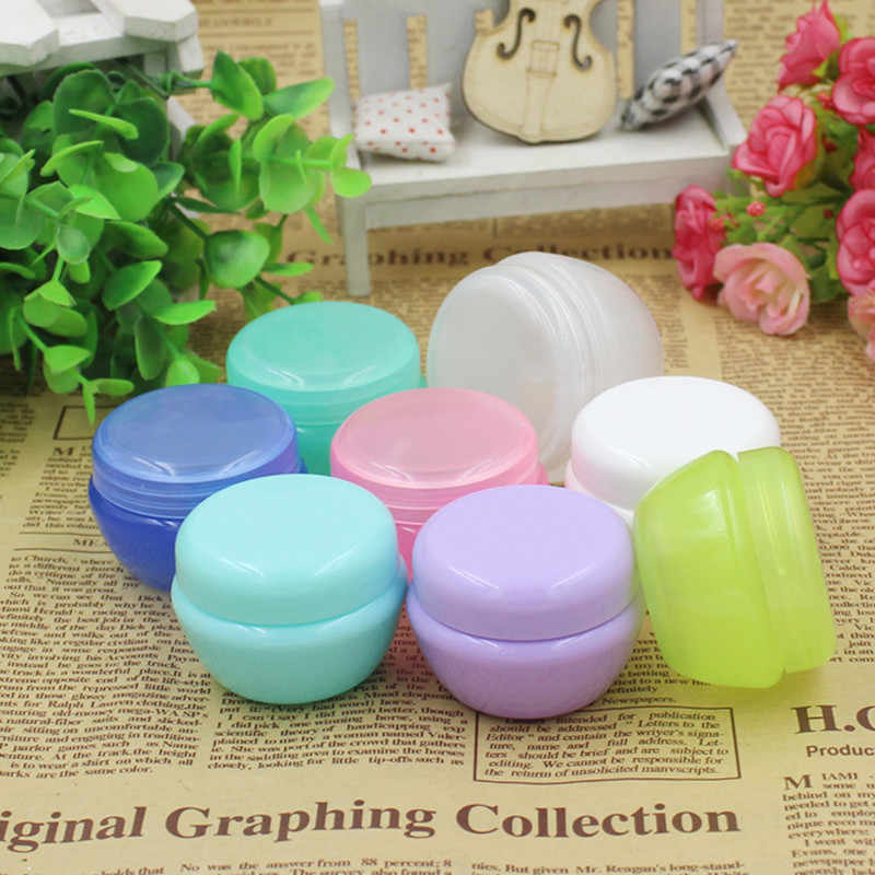 5g 10g 20g 30g 50g Refillable Bottles Plastic Empty Makeup Jar Pot Travel Face Cream/Lotion/Cosmetic Container