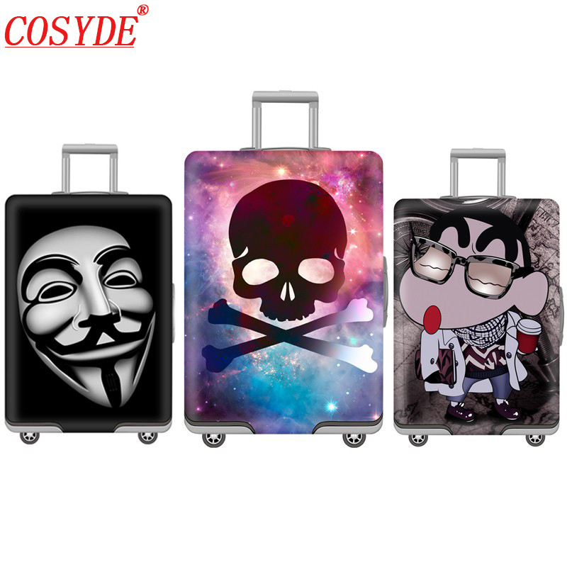 Cosyde Elastic Luggage Protective Cover For 19-32 Inch Trolley Suitcase Protect Dust Bag Case Child Cartoon Travel Accessories