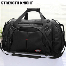 Купить с кэшбэком High Quality Men Travel Bags Large Capacity Women Luggage Travel Duffle Bags Nylon Outdoor Hiking Sport Waterproof Bags Bolso