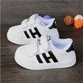 2016 nuevos niños pequeños zapatos de lona shoes for kids baby boys canvas shoes girls zapatillas planas ocasionales bajos escuela estudiantes shoes