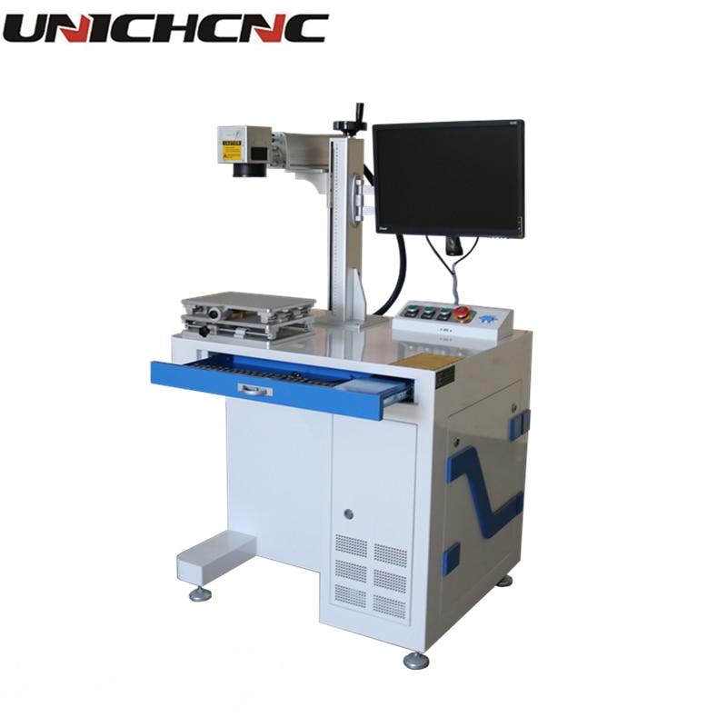 Haute configuration de bureau raycus fibre laser 20 w