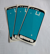 Free Shipping Hot Sale 50pcs lot Front Frame Adhesive Sticker For Samsung Galaxy S3 mini i8190