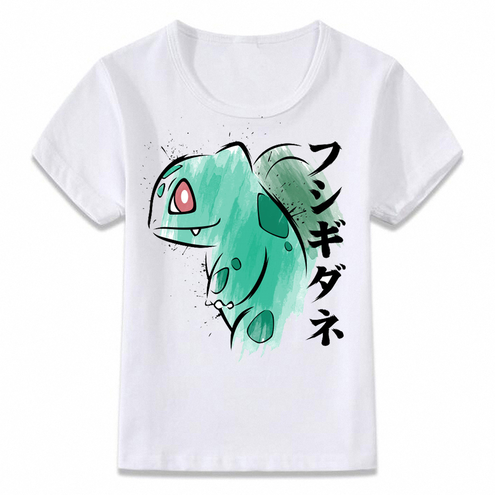 00ce4cd8f Detail Feedback Questions about Kids Clothes T Shirt Pokemon Bulbasaur  Charmander Squirtle Watercolor T shirt for Boys and Girls Toddler Shirts  Tee on ...